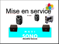 Mode d'emploi M A X I double basse
